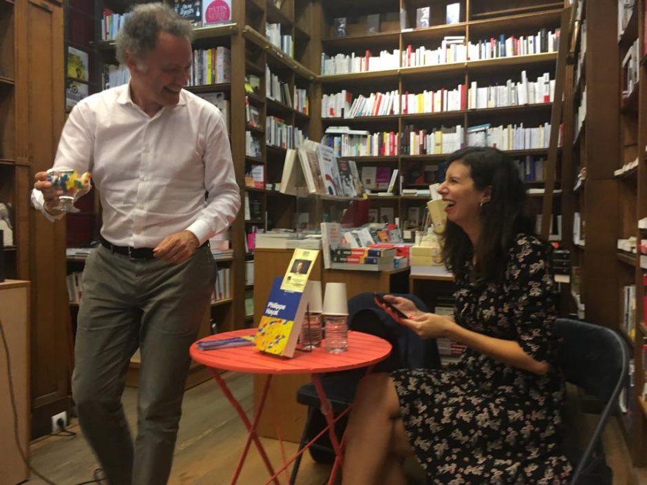 Rencontre littéraire avec Philippe Hayat