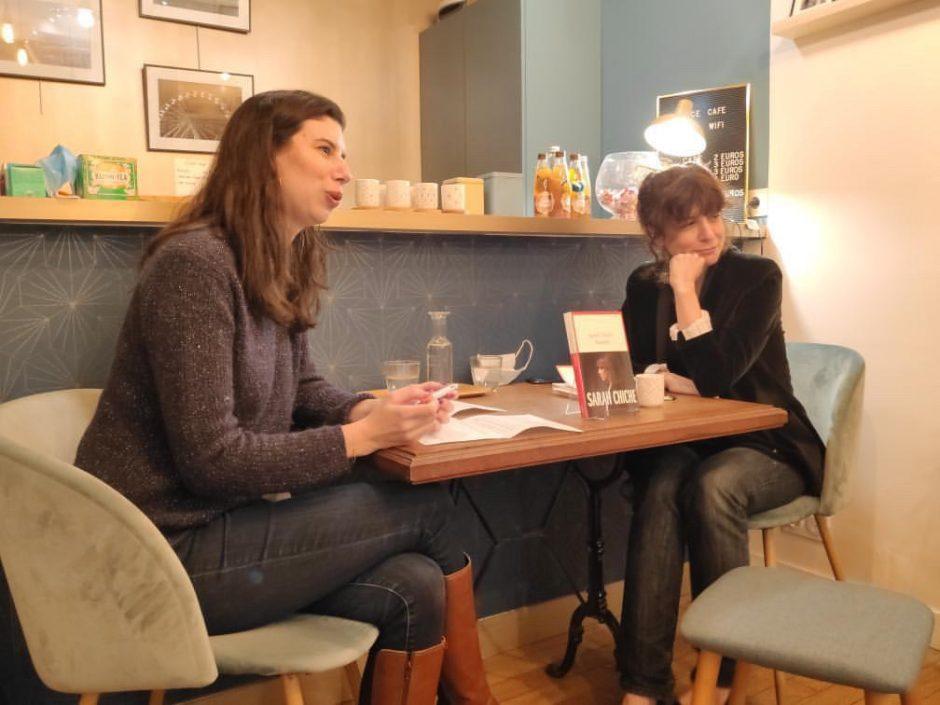 Rencontre littéraire Sarah Chiche